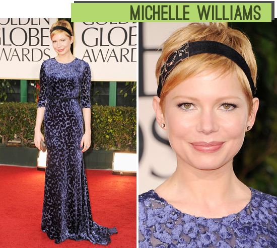 Michelle Williams Golden Globes