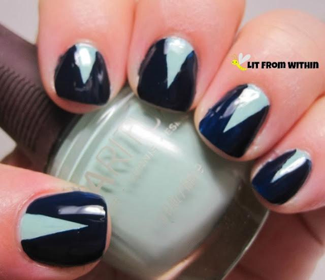 Sally Hansens Salon Nightwatch, a gorgeous midnight blue creme