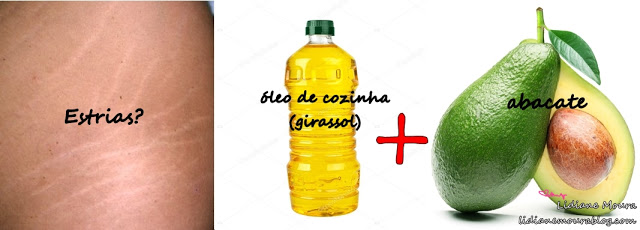 Oleo + Abacate nas Estrias