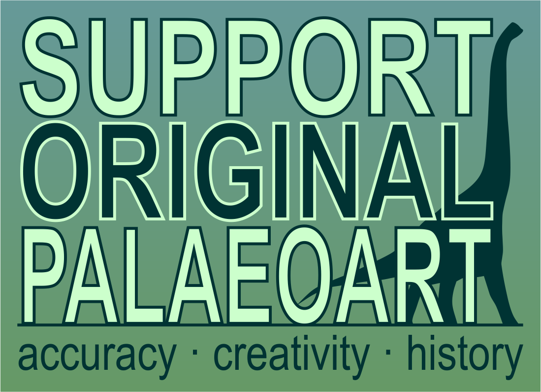Support Original Paleoart