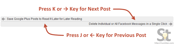 Adding Hotkey Navigation Feature on WordPress Posts