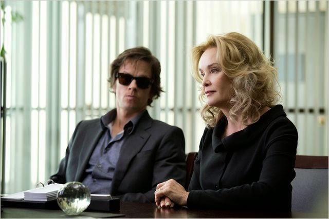 """Jessica Lange y Mark Wahlberg en """"El Jugador"""""""