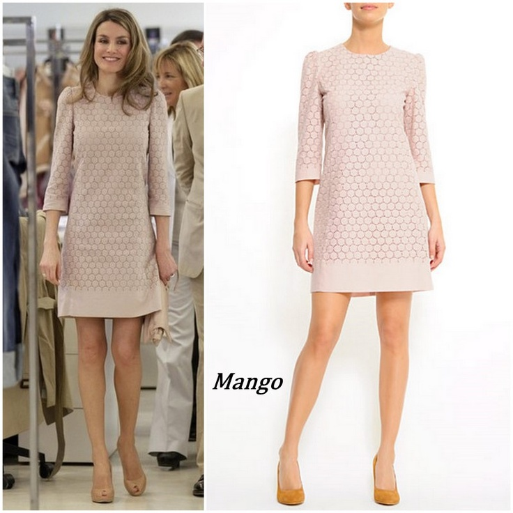 Princess Letizia in Mango