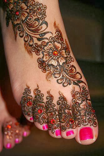 Hena vintage tattoo Asian style