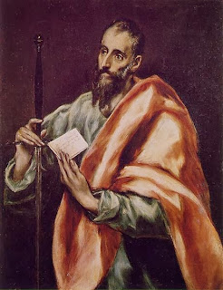 paul, saint, bible, painting, el greco