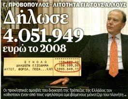 Ο ύποπτος ρόλος του τραπεζίτη και επικεφαλή της Τραπέζης της Ελλάδος Γ.Προβόπουλου