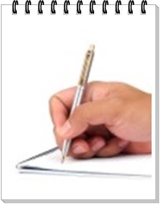 gambar cara menulis artikel cepat dan mudah di media online, cetak atau blog