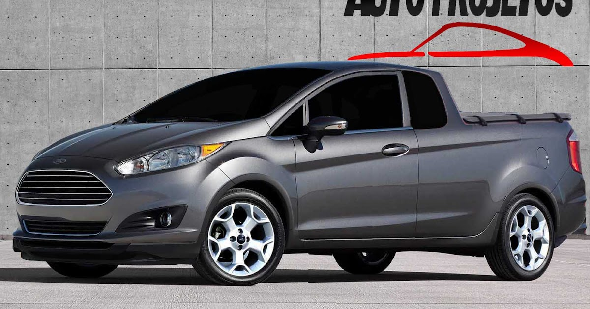 Auto Projetos: Ford Courier 2014