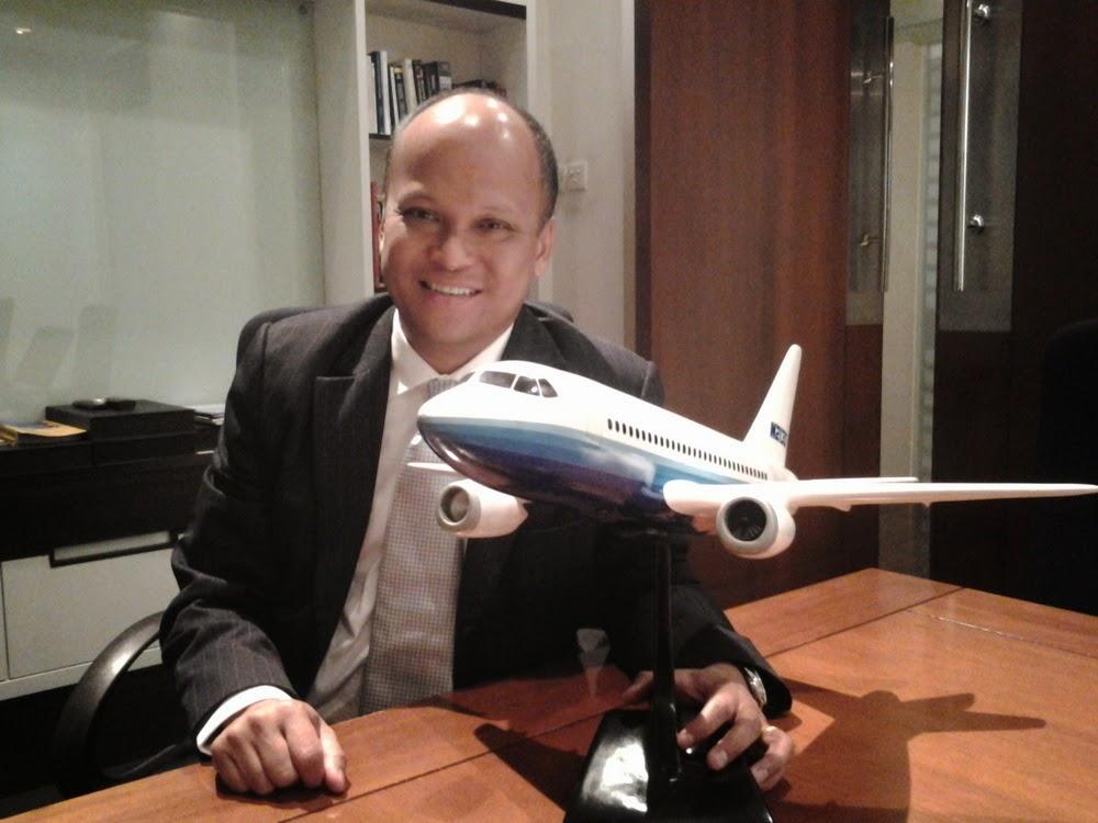 Ilham Habibie Tak Khawatir Pesawat R80 Bersaing dengan N219