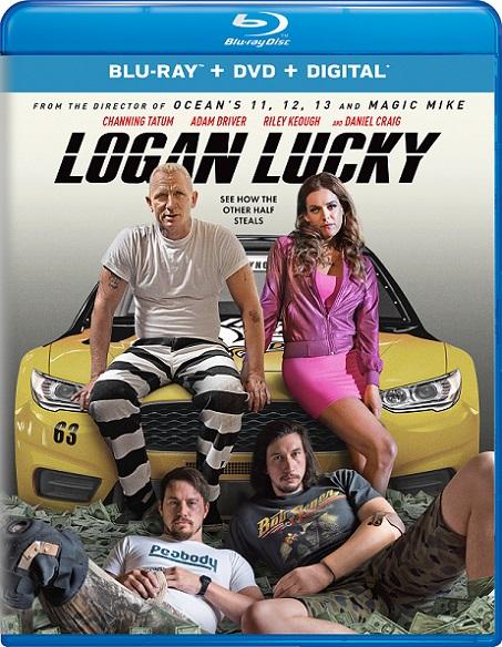 Logan Lucky (La Estafa de los Logan) (2017) 720p y 1080p BDRip mkv Dual Audio AC3 5.1 ch