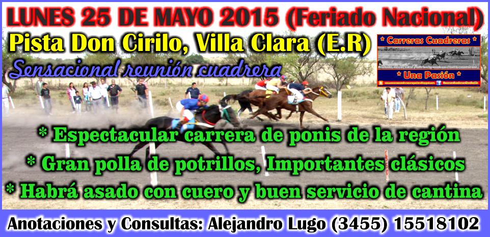 VILLA CLARA - 25.05.2015