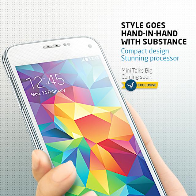 Flipkart Samsung Galaxy S5 Mini Teaser