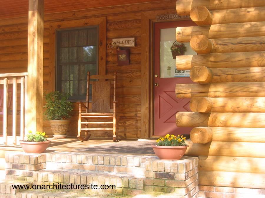 Arquitectura de casas caba as r sticas artesanales hechas - Como construir una cabana ...