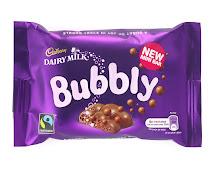 Cadbury Bubbly Chocolate Bar
