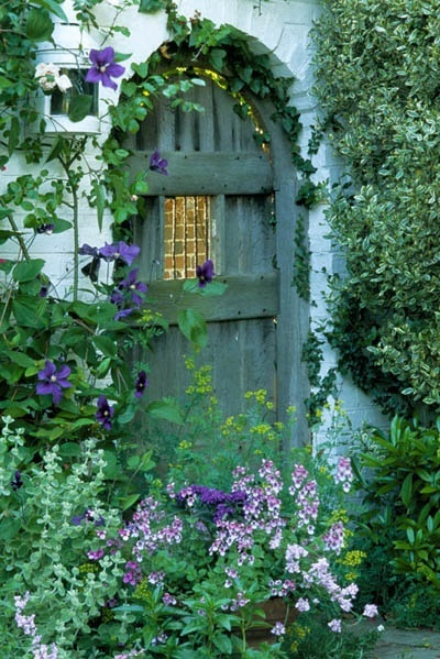 Garden Gate In Sussex Charlene Odom A1 Pictures
