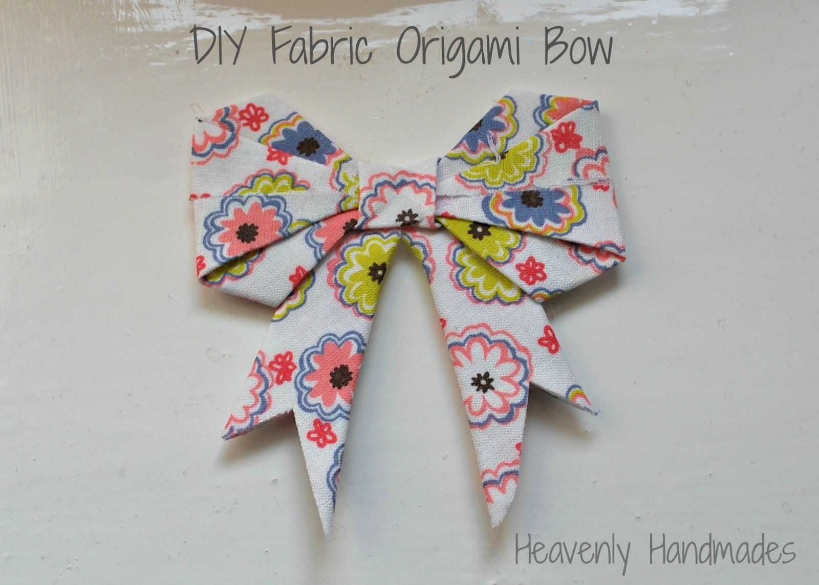 how to make a bow for a dress with fabric