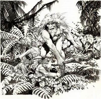 Misteri Raksasa Kepulauan Solomo