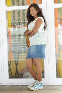 Actress Nakshatra Pictures in Denim Jeans at (KKMK) Katrina Kareena Madhyalo Kamal Haasan Movie Launch  002