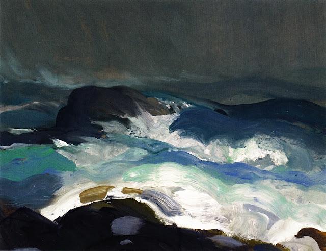 1913 Sea in Fog