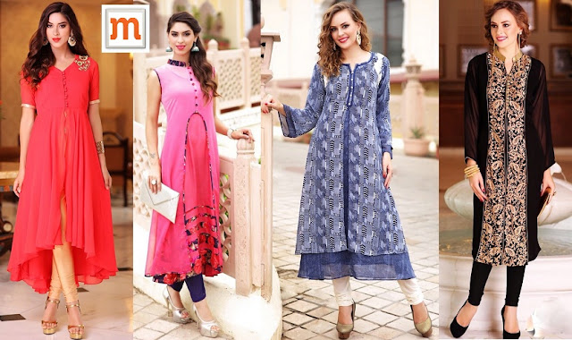 Garner Others Attention by Donning Kurtis from Moksha Fashions