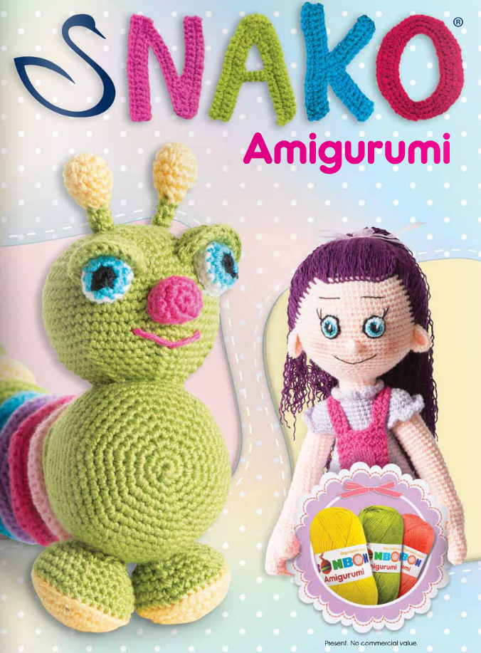 Free Crochet Books : Crochetpedia: Crochet Books Online - Snako Amigurumi