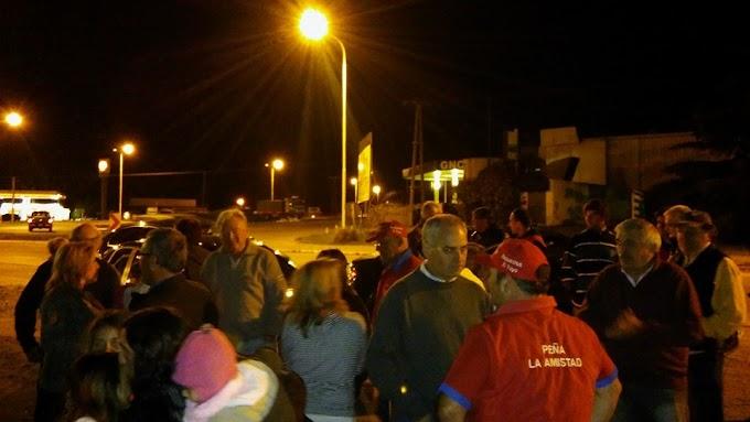 Una multitud recibió a Gustavo Diorio por su triunfo en el TC Rioplatense