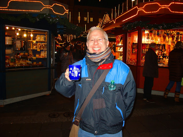 Another glass of glühwein? But of course! I had to have a cup at each of the markets we visited.