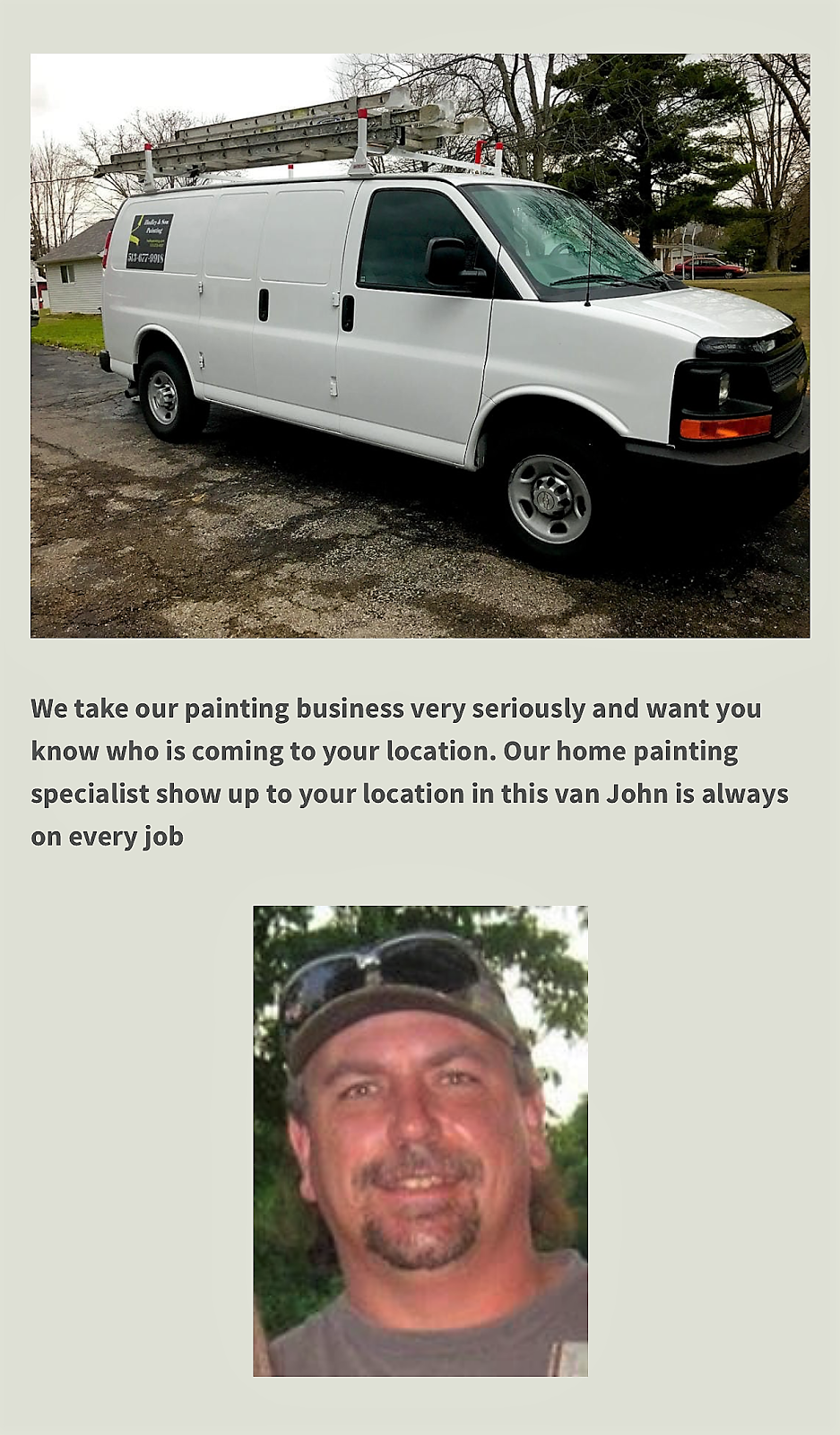 Know who is arriving for your painting estimates