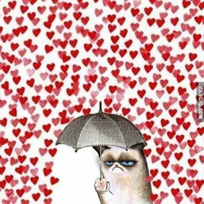 evitando lluvia de amor