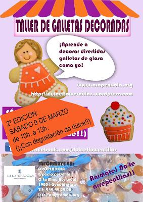 Oropéndola, galletas decoradas, glasa, respostería, recetas, taller, curso, familiar, niños, actividades con niños, Guadalajara, repostería, dulces, fondant