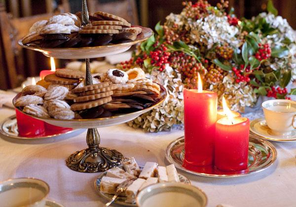 Sapori saperi biscotti natalizi galletas navide as - Regalo di buon auspicio per casa nuova ...