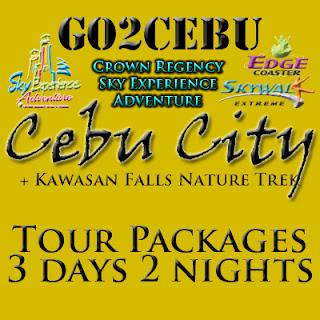 Cebu City + Crown Regency Sky Experience Adventure + Kawasan Falls Nature Trek in Cebu Tour Itinerary 3 Days 2 Nights Package (Check-in at Shangri-La Mactan Resort & Spa)