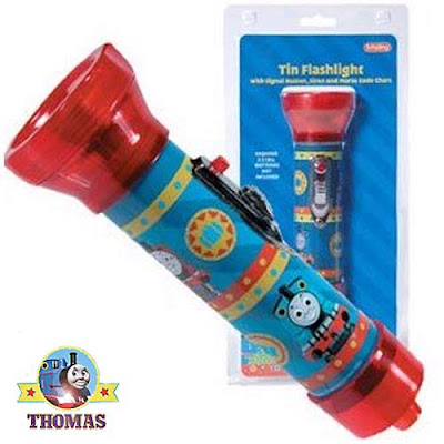 Thomas the train character flashlight for boys to carry on ghosts and candy bar trick or treat night