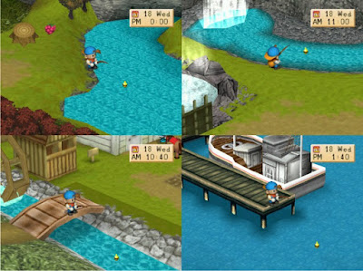 Cara memancing Ikan Legendaris di Harvest Moon