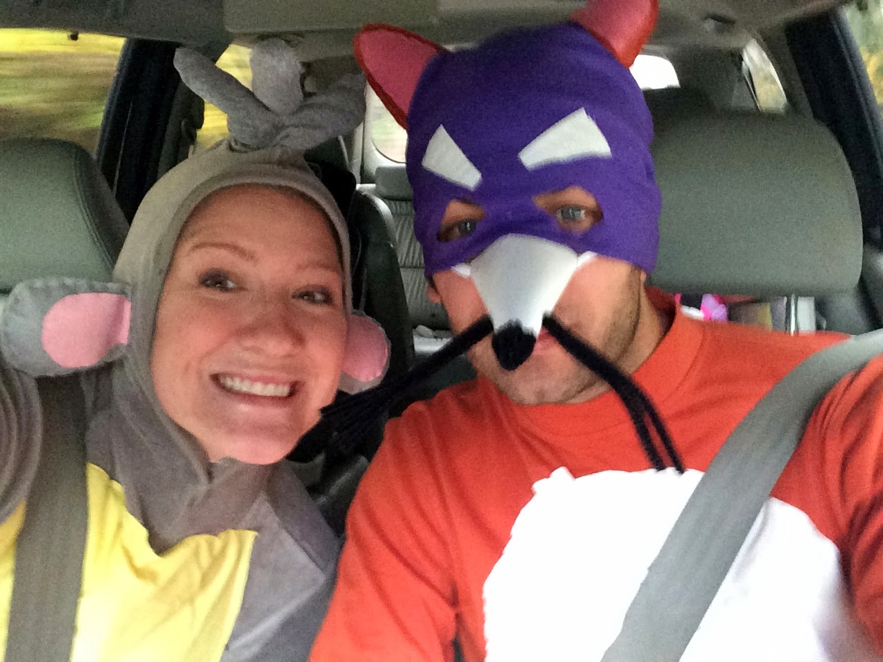 boots the monkey and swiper the fox - Swiper Halloween Costume
