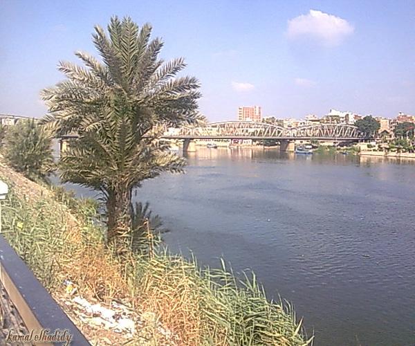 النيل بالقمر الصناعى