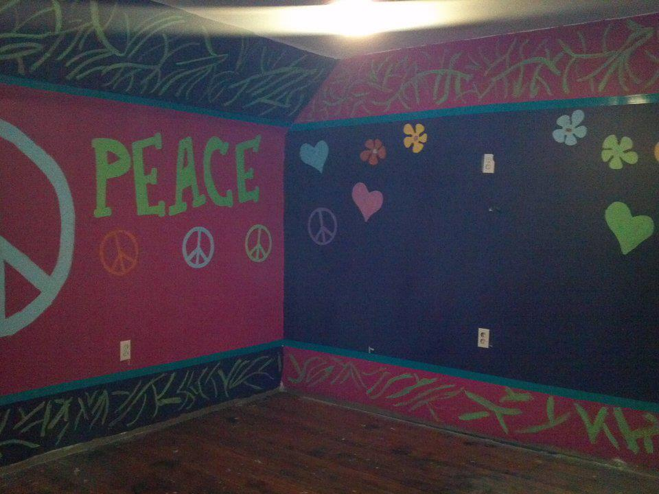 Handprint Wall Paintings