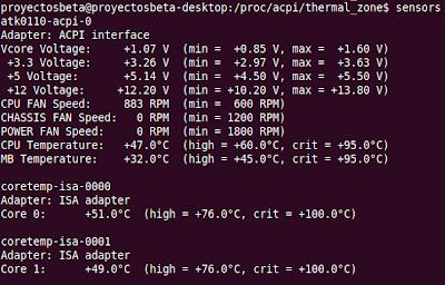 Imagen de como averiguar la temperatura de tu procesador en Ubuntu 10.04