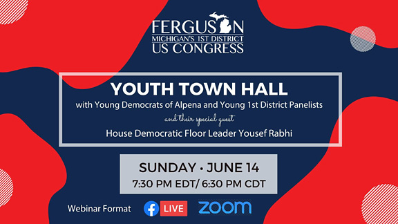 Join Dana Ferguson's Youth Town Hall June 14