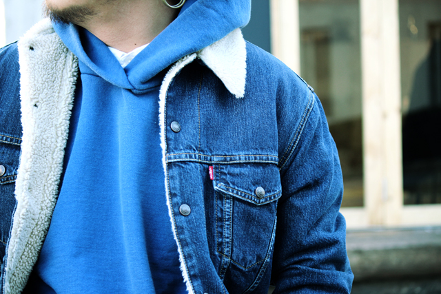 levisvintageclothing lvc 14fw fallwinter denim 501 1933 sweatparka denimjacket gジャン