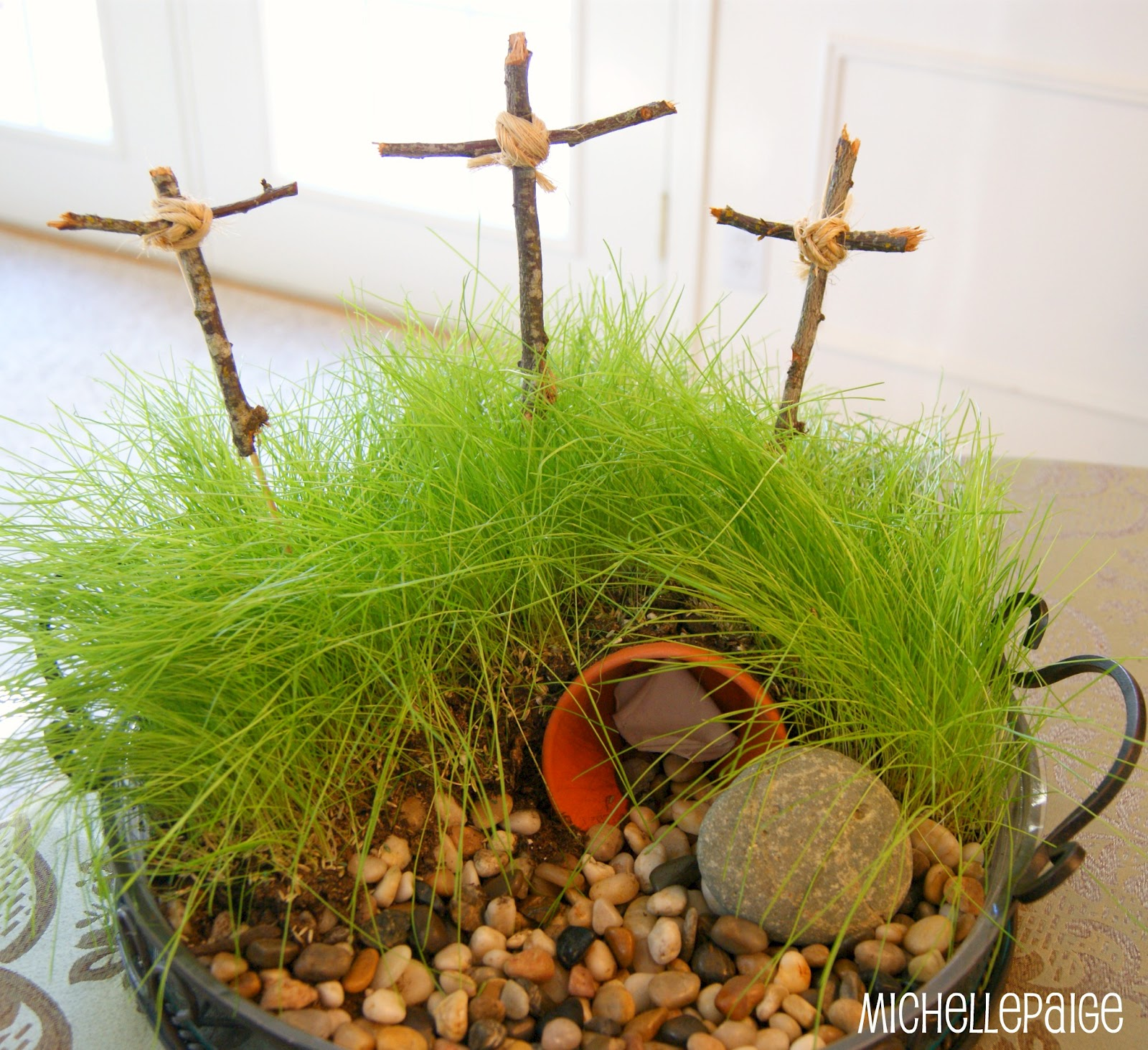 Michelle paige blogs easter cross crafts for Easter garden designs