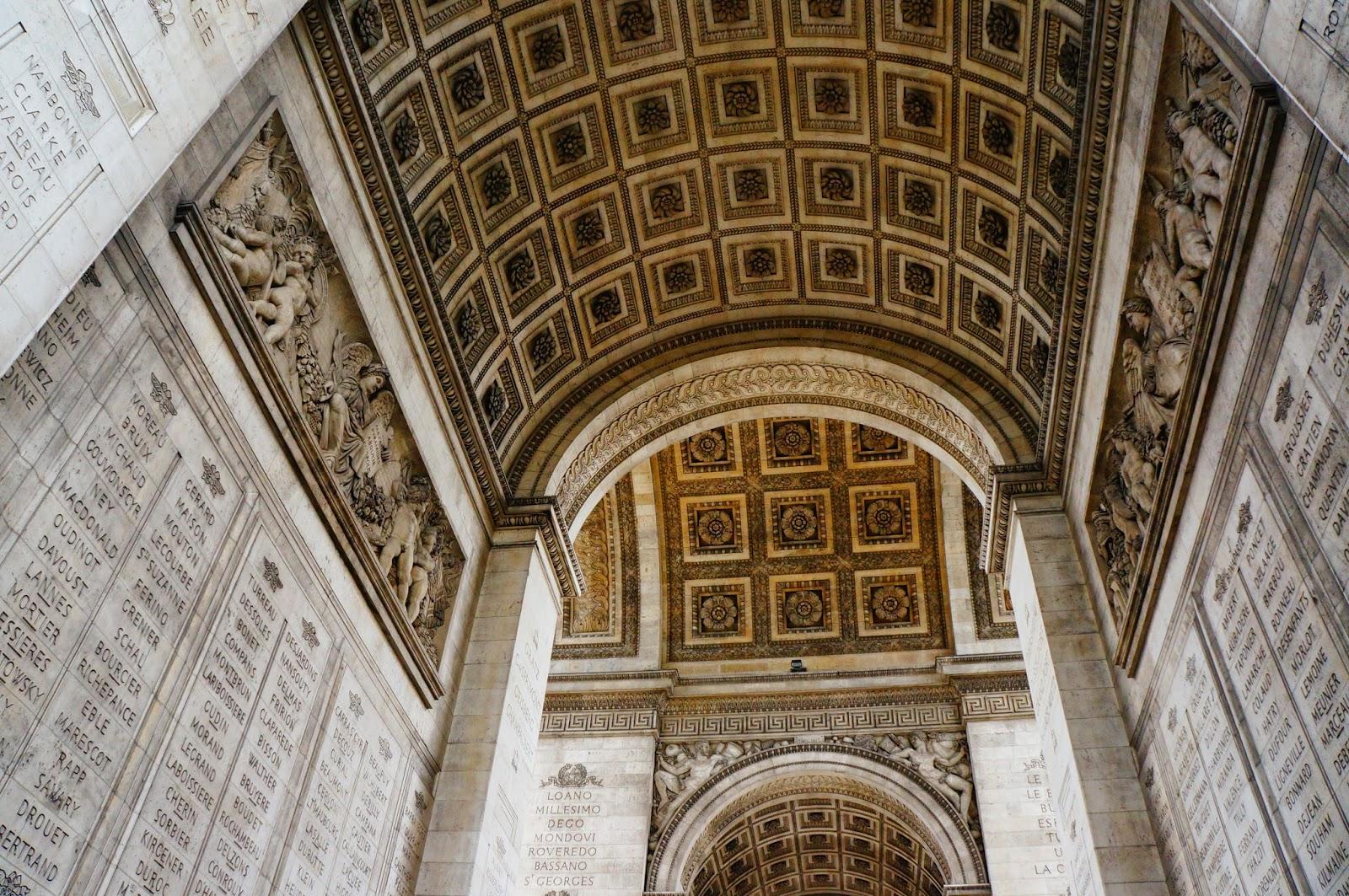 the travel bug entering the heart of paris louvre arc de