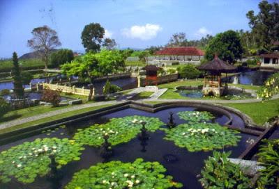 Tirta Gangga water Place