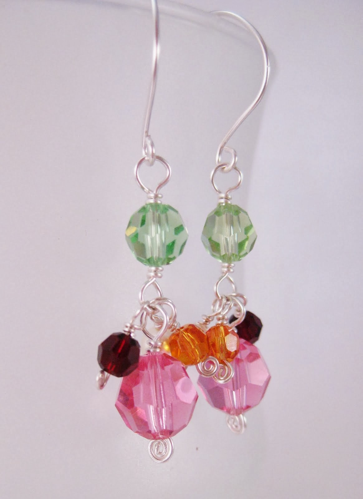Mother/Father Birthstone Earrings