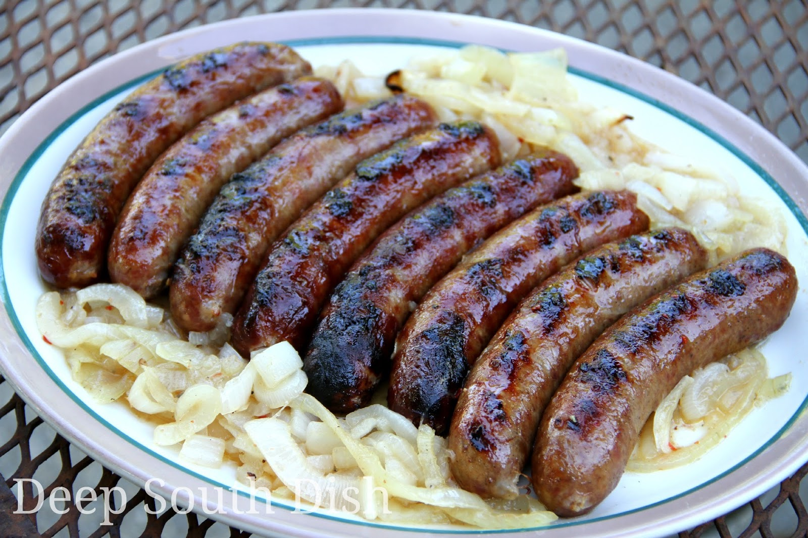 recipe: beer braised brats and cabbage [34]