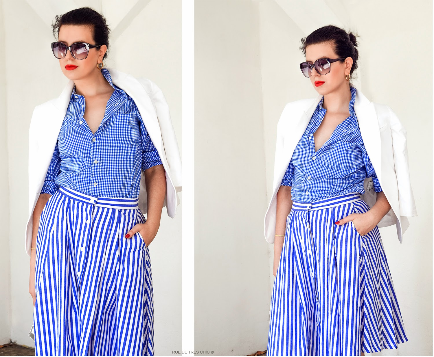 Gingham Fashion Trend 2015 Styling Outfit Ideas