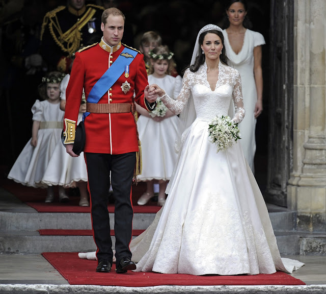 Dressybridal whose royal wedding dress is your favorite for Wedding dress princess kate