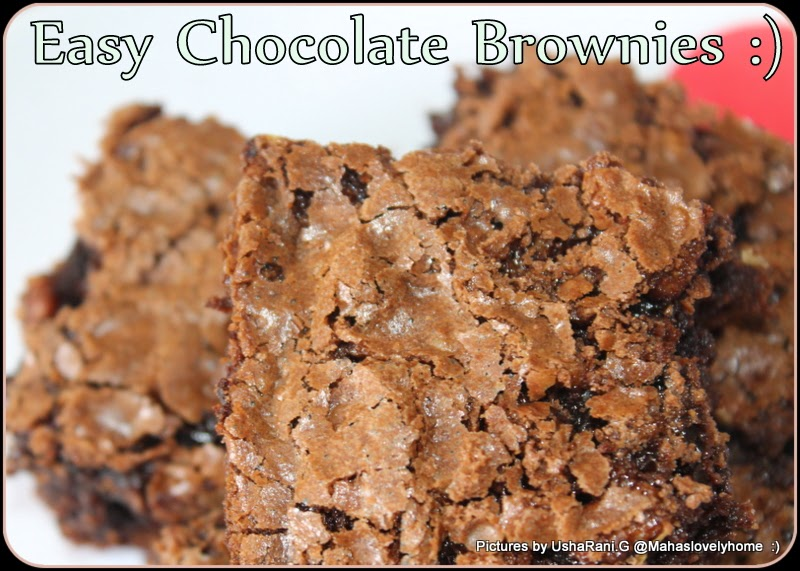 Wheat flour chocolate Walnut Brownies | Chocolate brownies with Cocoa ...