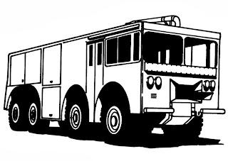 Kostenlose Malvorlage Rund um die Feuerwehr - Schule  - Malvorlagen Kostenlos Feuerwehr