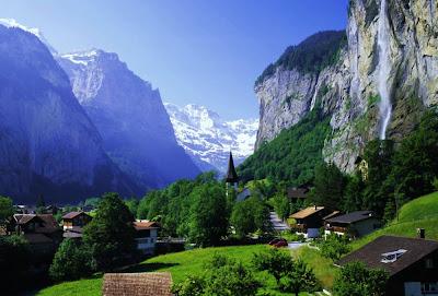 Cachoeira Staubbach – Suíça